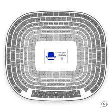 Estadio Santiago Bernabeu Seating Chart Map Seatgeek