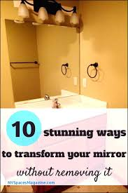 without removing it removing mirror glued on sheetrock wall remove mirror glu how