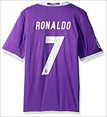 The new real madrid away goalkeeper jersey is a bold orange color this season accompanied by white trim. Amazon Com Real Madrid Away Ronaldo Jersey 2016 2017 Official Printing Xxxl Books