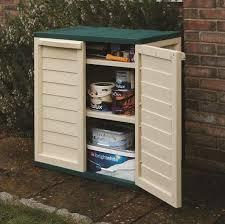 double door plastic utility cabinet