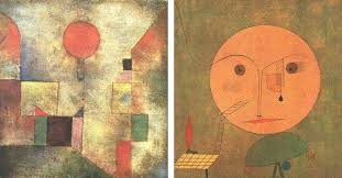paul klee mostly did drawings at his early period then switched paintings and power of colors