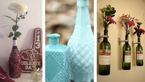 Decorating Empty Wine Bottles How To Decorate With Wine Bottles National Drink Wine Day 100 13