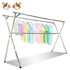 China 304 Stainless Steel Extended Adjustable Clothes Drying Racks Foldable  Outdoor Clothes Drying Rack