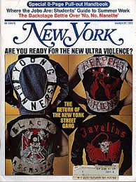 are you ready for the new ultra violent street gang new york out much notice it seems street gangs have again become a problem in new york city this time on a scale a potential for violence that be