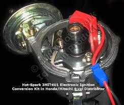 hot spark electronic ignition conversion kits for 4 cylinder and 6 hot spark 3hit4u1 electronic ignition conversion kit in honda accord 4 cylinder distributor