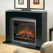 dimple laa black electric fireplace mantel package contemporary mantels large propane wall heaters vented most energy