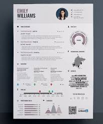 Brilliant Ideas Of Infographic Resume Builder Unique Resume Template