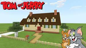 Minecraft Tutorial: How To Make Tom And Jerrys House
