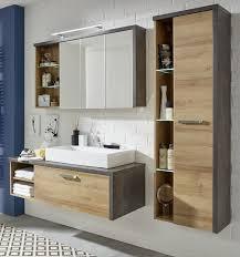 Badmöbel Set In Eiche Riviera Und Beton Design Designermöbel