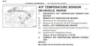 atf temp sensor not found toyota runner forum largest runner attached transmission temp sensor