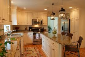 Decorating Kitchen Cabinets Decoration Marvelous Small Kitchen Decorating Ideas White Kitchen