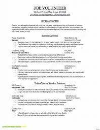 Sample Resume Template Teacher Valid Free Teacher Resume Templates