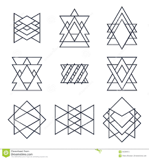 Geometric Shapes For Design Set Of Geometric Shapes For Your Design Trendy Hipster
