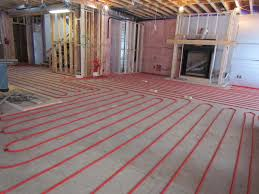 Flooring  Literarywondrous Heated Tile Floor Picture Design - Finish basement floor