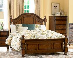 Alluring Country Style Beds Of Chicago Furniture For Poster Bed ...
