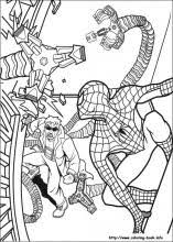 Small Picture Spiderman coloring pages on Coloring Bookinfo