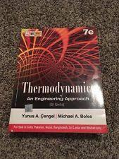 Thermodynamics An Engineering Approach: Books | eBay