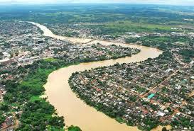 Resultado de imagem para cidades em margem de rio