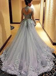 ball gowns. gorgeous prom dress,long gray dress,charming evening gown,ball gown go\u2026 ball gowns e