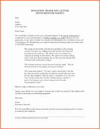 Thank You Note To Donors Best Of Charity Letter Thank You Donation