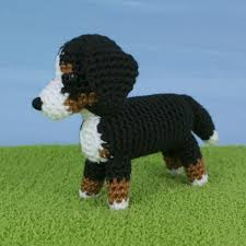 Crochet Dog Pattern Enchanting AmiDogs Bernese Mountain Dog Amigurumi Crochet Pattern PlanetJune