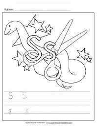 S Tracing Worksheet Alphabet Writing Worksheets Sentence Tracing