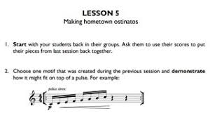 Elementry Lesson Plans Cbbc Ten Pieces Lesson Plans