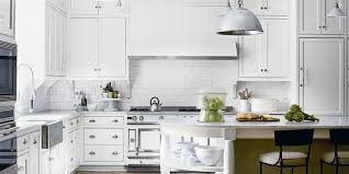 all white kitchen designs