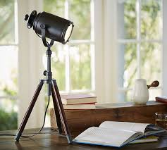 decor look alikes pottery barn photographer s tripod table lamp