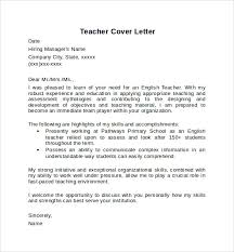 Primary Teacher Cover Letter English Tutor Cover Letter Barca Fontanacountryinn Com