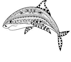 Coloriage Anti Stress Requin Imprimer Sur Coloriages Info