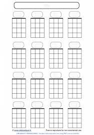 Left Handed Ukulele Chord Chart Pdf Printable Blank Ukulele Chord Sheet Printable Blank Face Charts