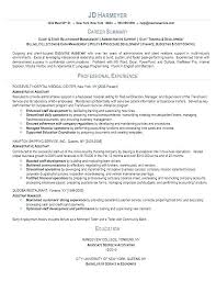 Sample Administrative Clerical Resume Office Assistant Resume ...