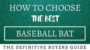 Baseball Bat Chart How To Choose The Best Bat For Baseball Fringe Pursuits