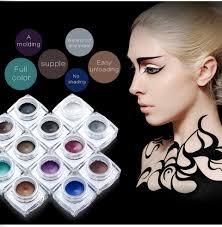 12 Color Waterproof Eye Liner Cream Matte Eyeliner Gel Makeup.