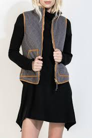 Thml Quilted Riding Vest from Texas by RueBird Market — Shoptiques & Thml Quilted Riding Vest - Front Cropped Image Adamdwight.com
