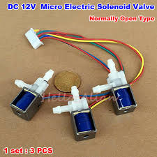 1set <b>3pcs DC 12V</b> 1 Way <b>2</b> Position Normally Open Micro Electric ...