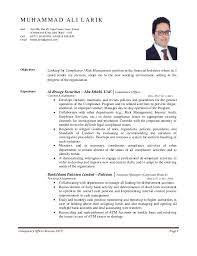 Compliance Officer Resume Do 5 Things