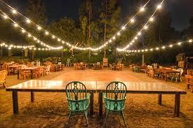 Market Lights String Lights in backyard wedding outdoors lighting