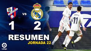 Huesca vs Real Madrid [1-2] | RESUMEN y GOLES