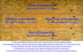 Small Picture Backyard Raised Vegetable Garden Construction How To Instructions