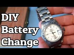 How To Replace Watch Battery In Invicta Divers Watch Date Master Gmt