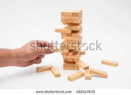 Game With Wooden Blocks Blocks Wood Game Stock Images RoyaltyFree Images Vectors 60