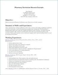 Tag Pharmacy Technician Resumes Objectives Pharmacy Technician