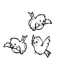 Small Picture Bird Coloring Pages Coloring Page For Kids Kids Coloring