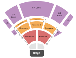 Sweetland Amphitheatre Seating Chart Endstage No Pit Seating Chart Interactive Seating Chart