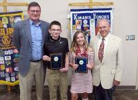 Metro Kiwanis recognizes outstanding students - Huntington County Chamber  of Commerce