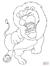 Small Picture Trapped Lion coloring page Free Printable Coloring Pages