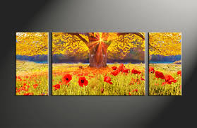large canvas wall art flowers