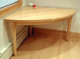 custom made 2 person quarter circle kitchen corner table